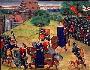 Watt Tyler leader of the Peasants' Revolt of 1381