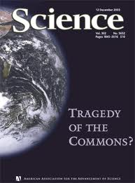 Harden's 1968 article appeared in Science magazine