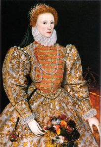 Queen Elizabeth in 1575