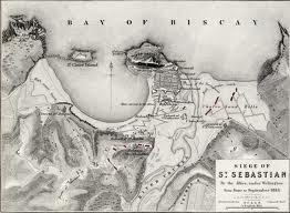 The siege of San Sebastian, 1813