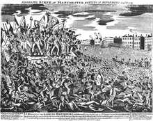 Hunt's arrest at Peterloo