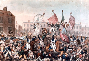 Peterloo Massacre by Richard Carlile