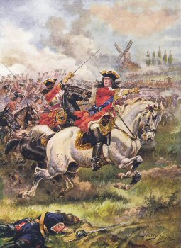 The Duke of Marlborough at the Battle of Blenheim