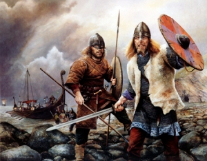 Vikings Arrive by Chris Collingwood